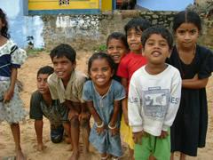 インドの子供たち