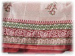 サリーの布