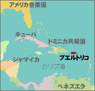 カリブ海マップ