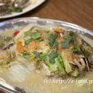 川魚シャン風蒸し煮