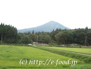 会津磐梯山。