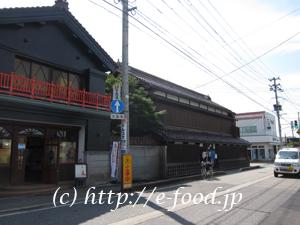 渋川問屋のある、七日町の越後海道。